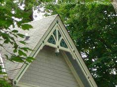 gable trim for the home 6 ornaments decoration