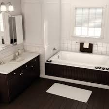 Tile Bathtubs Decor Modern Bathroom Design With Mosac Tile Tub Surround And