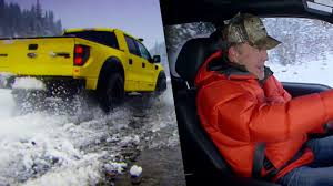 Ford Raptor Top Gear - top gear omg moment jeremy clarkson speeds through an icy river