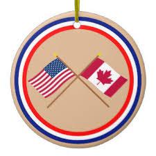 canada flag ornaments keepsake ornaments zazzle