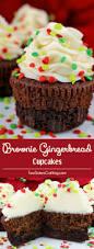 brownie gingerbread cupcakes two sisters crafting