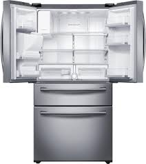French Door Fridge Size - rf28hmedbsr samsung stainless steel 36