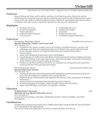 exle of resumes lead resume child care lead resume daycare k sle