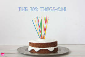 the big three oh a birthday cake hearts u0026 beets