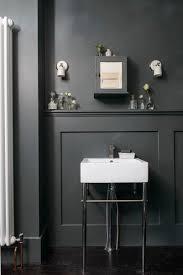 Bathroom In Black Adrienne U0027s Bathroom In Farrow U0026 Ball Downpipe As Featured In Ideal