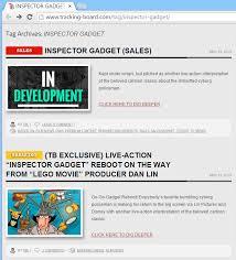 gadget inspector gadget u0027s ultimate fan blog