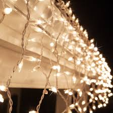 icicle light 150 clear twinkle icicle lights white wire