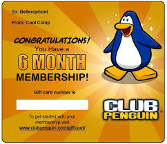 club penguin gift card free club penguin membership competition club penguin cheats