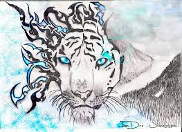 tribal tiger inferno by omenchildren on deviantart