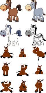 cartoon horse vector vector graphics blog