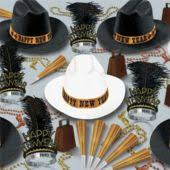 new years kits new years party hats noisemakers and horns complete party kits