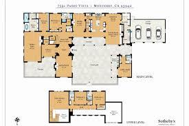 row house floor plans hacienda house plans luxury hacienda style house plans row