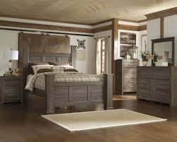 king poster bedroom set 4pc poster bedroom set in dark brown