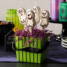 quick ghost cookies recipe taste of home