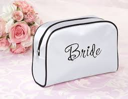 bridal makeup bag cosmetic bags allow for unique gift customization for the bridal party