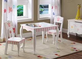 childrens table and chair set with storage kids wooden desk and chair for writing activity in clear finish