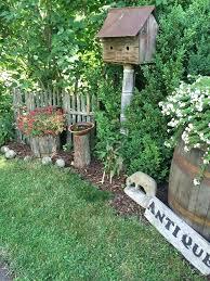 Rustic Garden Ideas Rustic Garden Decor Items Photogiraffe Me