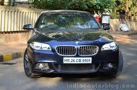 review bmw 530d 2014 bmw 530d m sport review front end indian autos