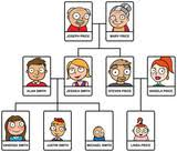 family tree stock image and royalty free vector files on