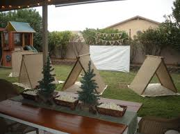 Cute Backyard Ideas by Cute Backyard Camping Party Backyard Camping Party Ideas