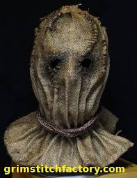 Scary Scarecrow Costume Sackcloth Hood Google Search Halloween Pinterest Hoods