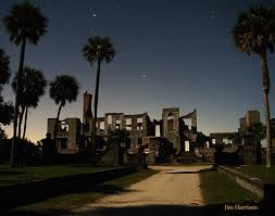Moonlight Landscape Lighting by About The Island Cumberland Island Safari