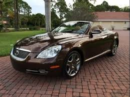 how much is a lexus sc430 sold 2007 lexus sc430 convertible for sale by auto haus of
