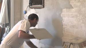 Painting Block Walls Interior How To Render A Brick Wall Using Render Wall And Acrylic Render Or