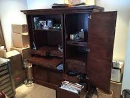 Armoire Solid Wood Solid Wood Home Office Desks Foter