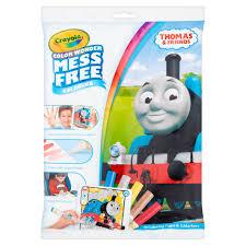 crayola color wonder coloring book set thomas the train walmart com