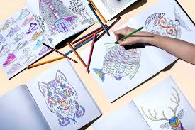 how coloring books for adults came into fashion time com