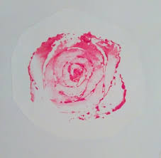 printing roses using celery stalks thriftyfun