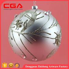 wholesale custom painted glass ornaments for