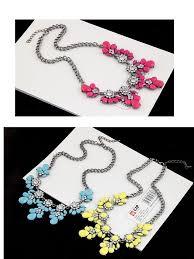 Vestibulum Sapin Prin Quam by Choker Fashion Charms Crystal Gem Cubic Zircon Drop Pendant Collar