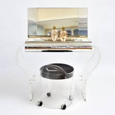 Lucite Vanity Table Valerie Wade Furniture Valerie Wade