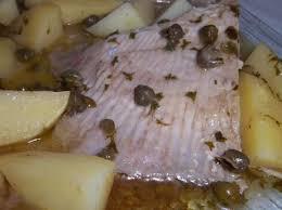 comment cuisiner de la raie aile de raie au beurre noir et ses pommes de terre par rozanne une