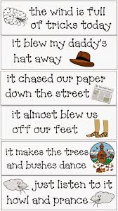 wind tricks poetry packet classroom freebies weather and poem