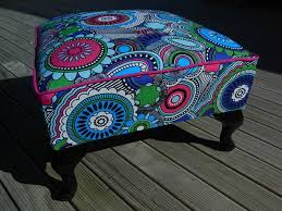 Funky Ottoman Funky Footstool Suite For The Soul