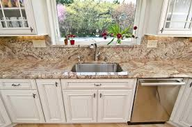White Kitchen Cabinets With Granite Countertops Typhoon Bordeaux Granite Countertops U2013 Best Kitchen Countertop Ideas