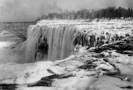 niagara falls frozen due polar vortex nope photos
