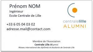 Cole Centrale De Lille Commandez Vos Cartes De Visite 2017 Centrale Lille Alumni Les