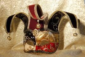venetian jester mask joker mask with bells from venice masquerade masks online