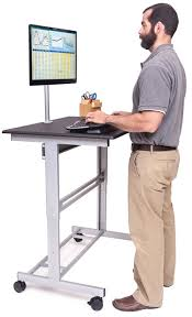 standing desk on wheels mobile standing desk on wheels office space pinterest desks
