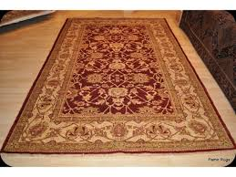 Rug Color Elegant Handmade Persian Rug 6 U0027 X 9 U0027 Cherry Red Background Gold