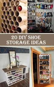 20 clever diy shoe storage ideas cool diys