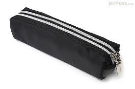 pencil pouches raymay zipper color pencil black jetpens