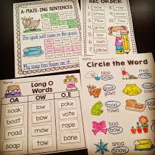 awesome oa ow worksheets and activities to teach the long o oa and