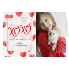 custom valentines day cards create a custom s day photo card for your sweetheart