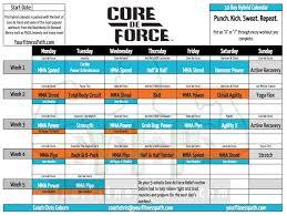 amazon dvd calendar black friday core de force workout calendar your fitness path