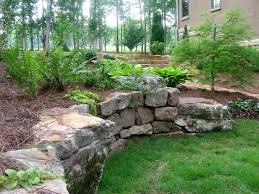 Garden Ideas With Rocks Rock Wall Garden Designs Best Rock Wall Gardens Ideas On Rock Wall